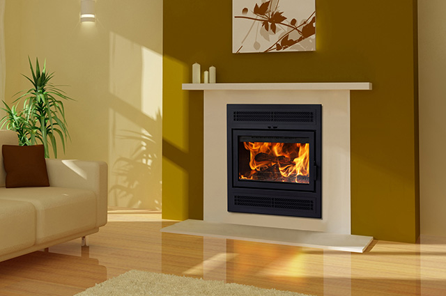 stove wittus wood cubic new fireplace by